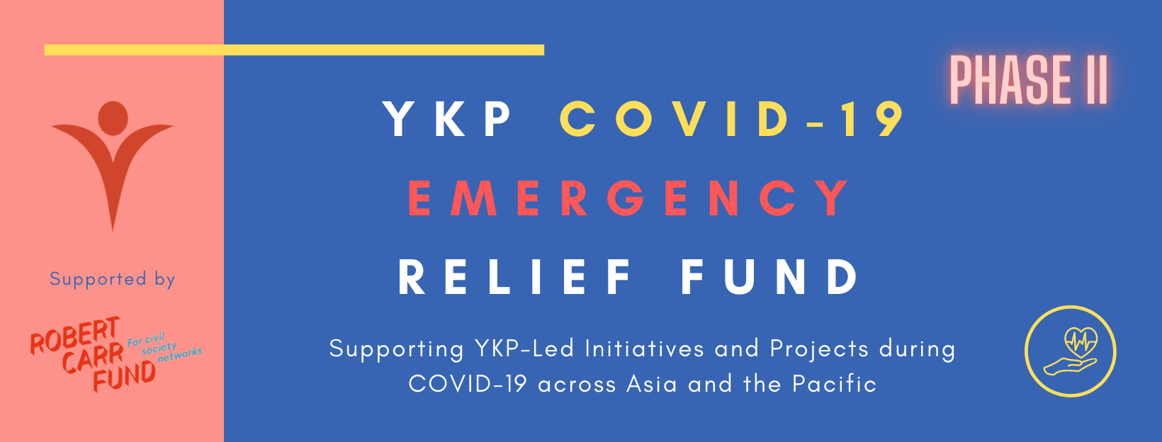 Ykp Covid 19 Emergency Relief Fund Phase Ii Youth Lead