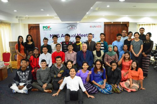 Myanmar Youth Stars provides peer-led online sessions on HIV during COVID-19