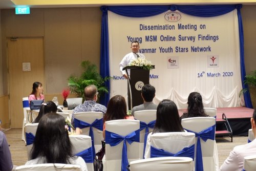Myanmar Youth Stars Leads Survey on YMSM