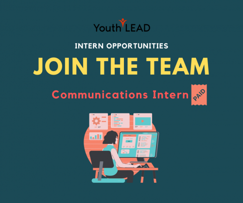Vacancy: Communications Intern