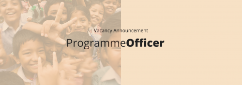 Vacancy Announcement: Programme Officer