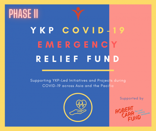 YKP COVID-19 Emergency Relief Fund: Phase II