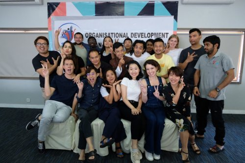 4Youth Organisational Development and Change Workshop: Press Release