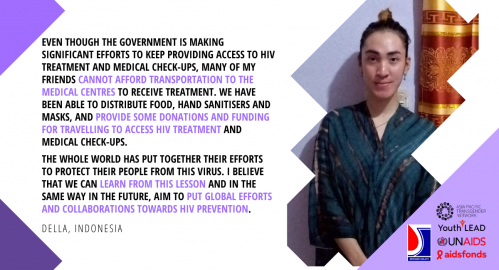 Dignity Amidst COVID-19: Trans Youth Leading the Response - Della's Story