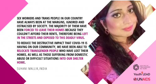 Dignity Amidst COVID-19: Trans Youth Leading the Response - Suhani Mallik's Story